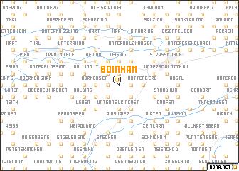 map of Boinham