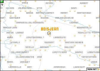 map of Bois-Jean
