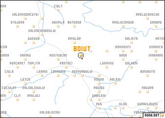 map of Boiuţ