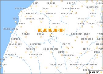 map of Bojongjuruh