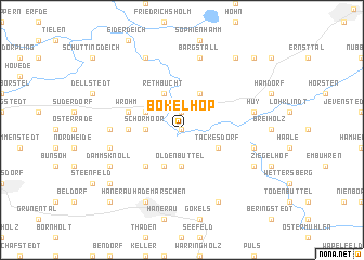 map of Bokelhop