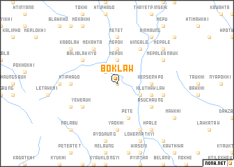map of Bôklaw