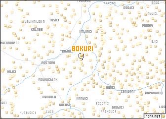 map of Bokuri