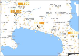 map of Bolboc