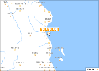 map of Bolbolon