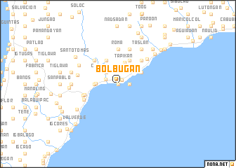 map of Bolbugan
