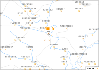 map of Bold