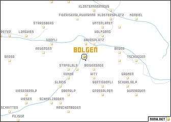 map of Bolgen