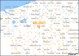 map of Boliñgit