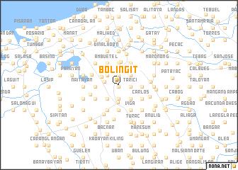 map of Boliñgit
