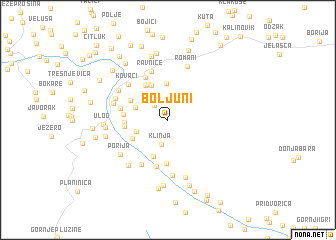 map of Boljuni