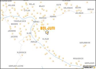 map of Boljuni