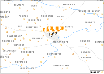 map of Bolkhov