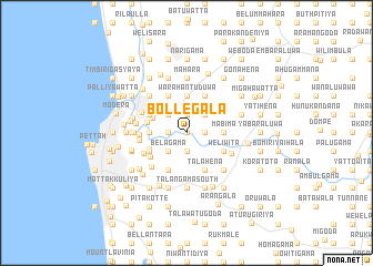 map of Bollegala
