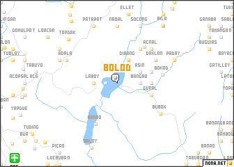 map of Bolod