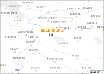 Bolokhovo (Russia) map - nona.net on