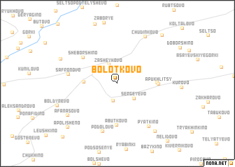 map of Bolot\