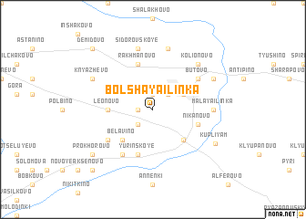 map of Bol\