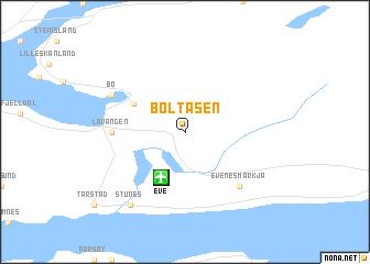 map of Boltåsen