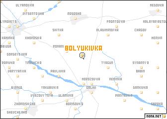 map of Bolyukivka
