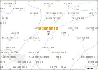 map of Bomporto