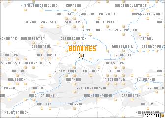 map of Bonames