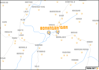 map of Bonandam