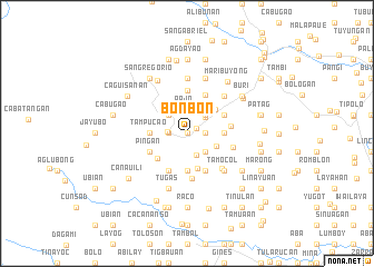 map of Bonbon