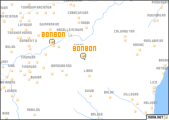 map of Bonbon