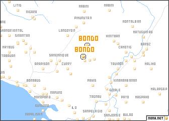 map of Bondo