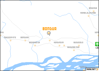 map of Bondua