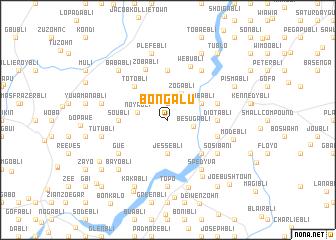 map of Bongalu