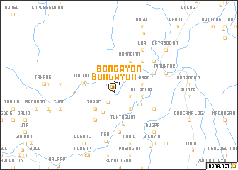 map of Bongayon