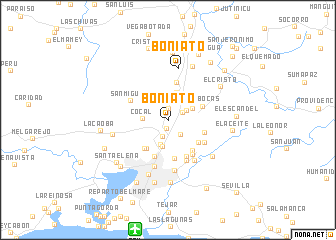 map of Boniato