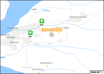 map of Bonibrook