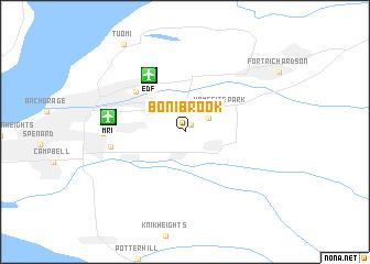 map of Bonibrook