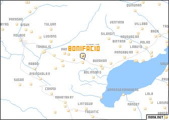 Bonifacio Philippines map nonanet