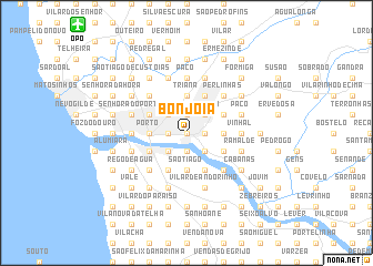 map of Bonjoia