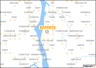 map of Bônmano