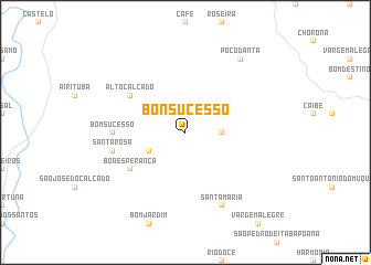 map of Bonsucesso