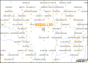 map of Boquillas