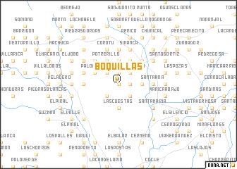 map of Boquillas