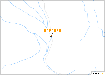 map of Bordaba