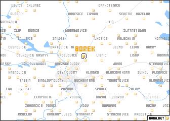 map of Borek