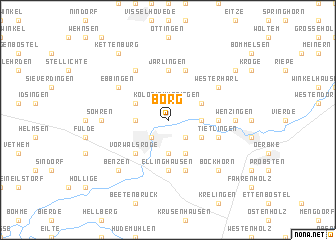 map of Borg