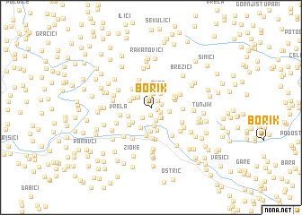 map of Borik