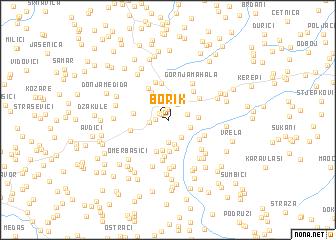 map of Borik