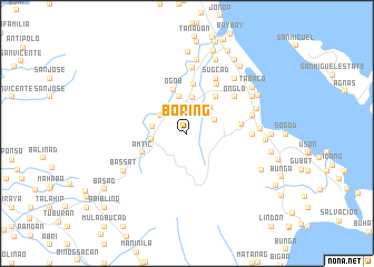 map of Boring