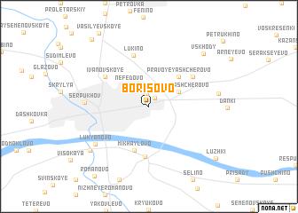 map of Borisovo