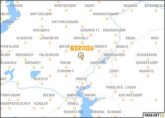 map of Bornow